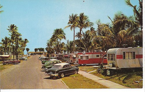 Vintage Trailer Parks And Campground Images