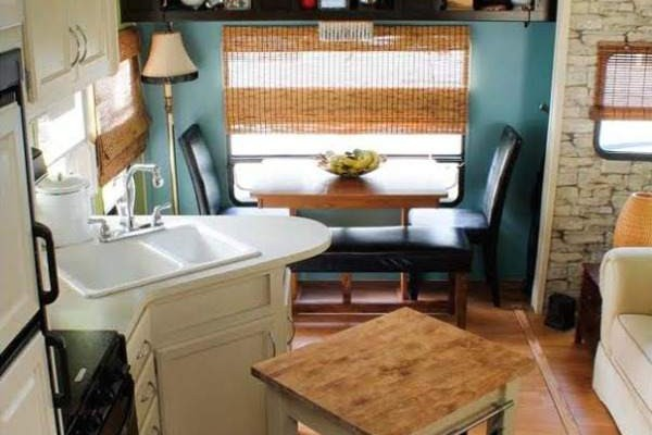 camper decorating ideas lauras 5th wheel makeover - Camper Design Ideas
