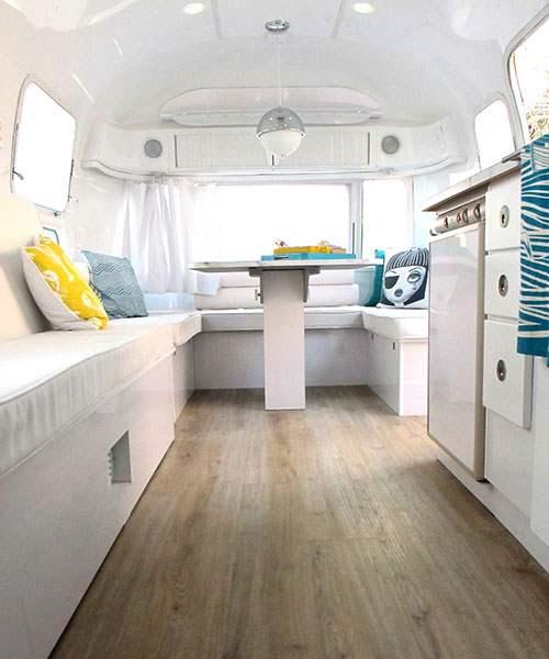 6 beach makeover in Airstream b