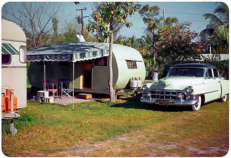 vintage trailer parks and campground images. Black Bedroom Furniture Sets. Home Design Ideas