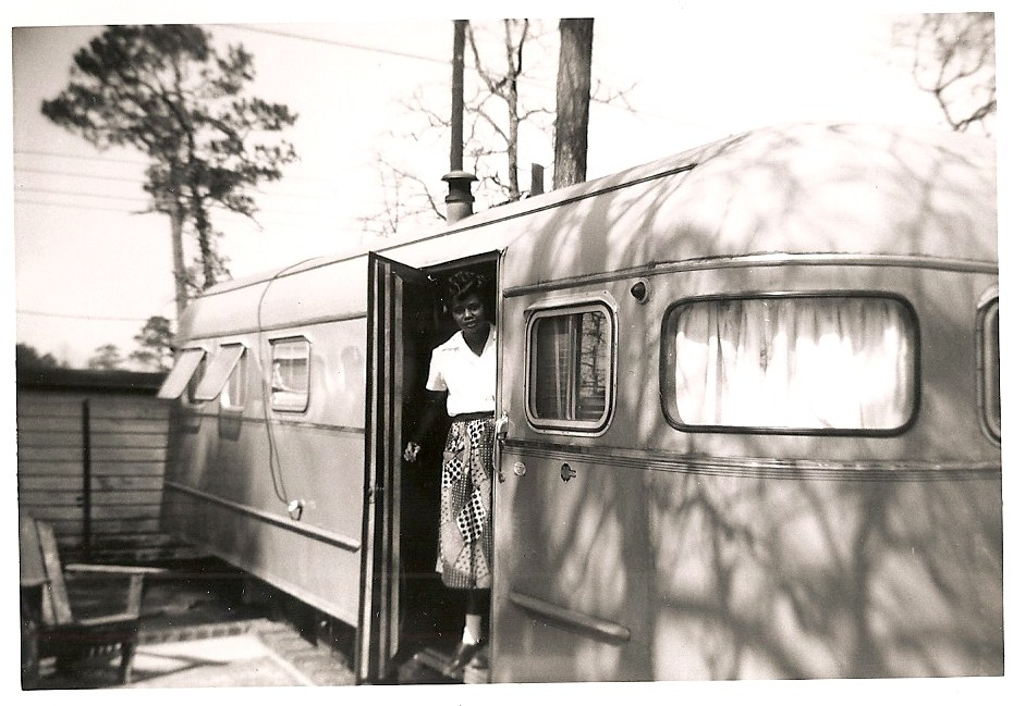 1953 mobile homes  - ATOMIC Hot Links Ft Benning GA 1953
