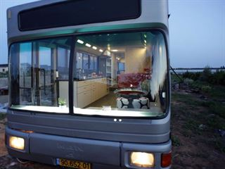 vintage buses-Abandoned Bus Remodeled into beautiful mobile home - Exterior of Bus