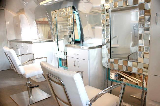 Airstream Remodeled into a Salon (2)