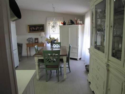 Amazing 2007 Fleetwood manufactured home makeover (dining area after 2)