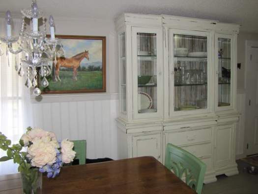 Amazing 2007 Fleetwood manufactured home makeover (dining area after)