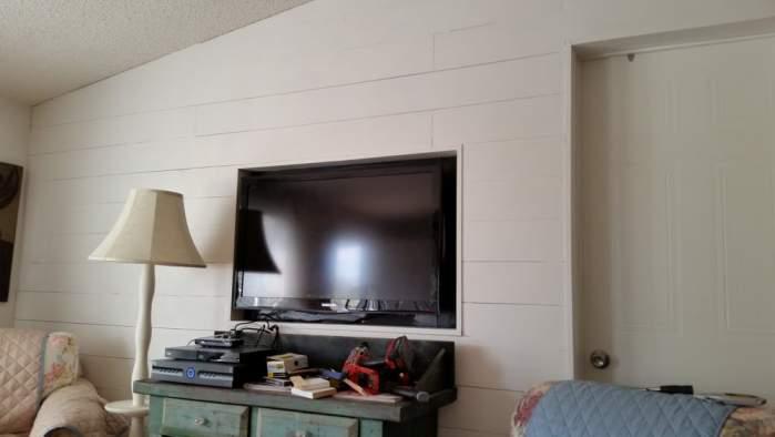 Amazing 2007 Fleetwood manufactured home makeover (amazing living room after makeover 2)