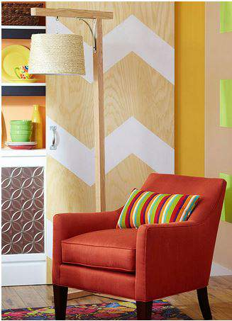 Basic Wood Floor Lamp - DIY lighting projects
