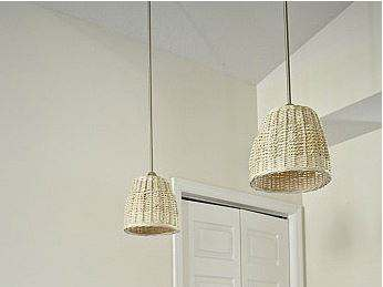 Basket light pendant