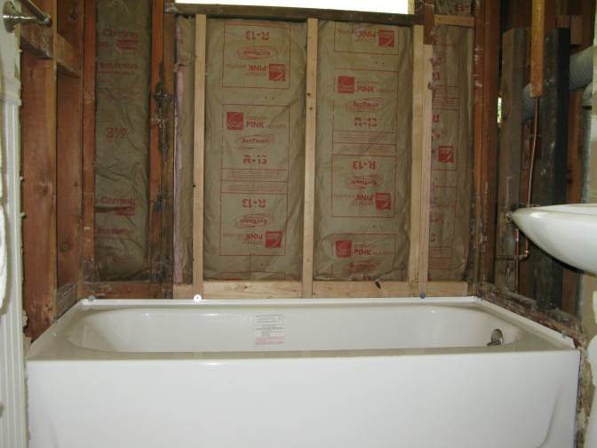Bathroom 1 -New tub installed