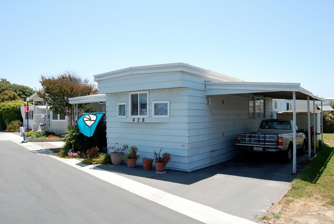 30 Great Mobile Home Exterior Ideas (22)