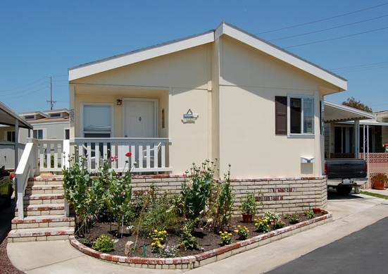 Mobile home exterior makeover for Exterior beauty quotes