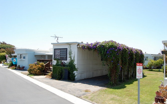 30 Great Mobile Home Exterior Ideas (3)