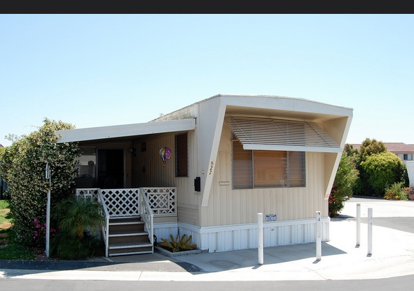 30 Great Mobile Home Exterior Ideas (4)