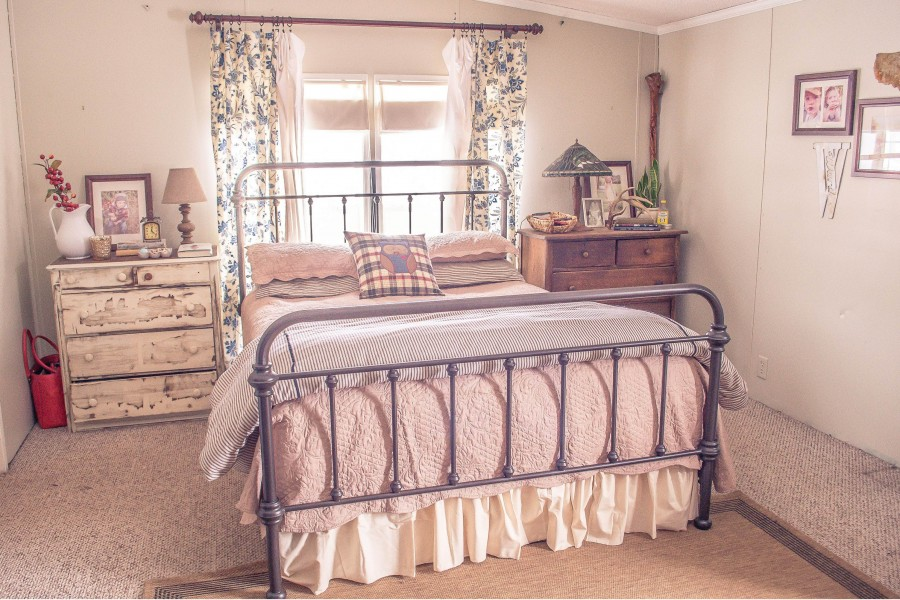 Beautiful Manufactured Home Decorating Ideas - Master Bedroom - mobile home bedrooms