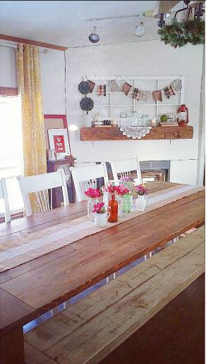Beautiful Manufactured Home Decorating Ideas - Dinning Room 2
