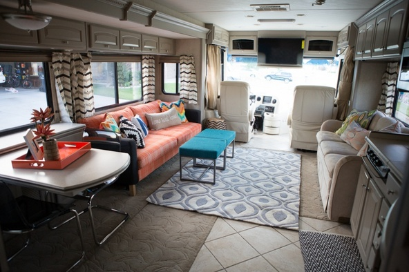 Colorful Rv Remodel