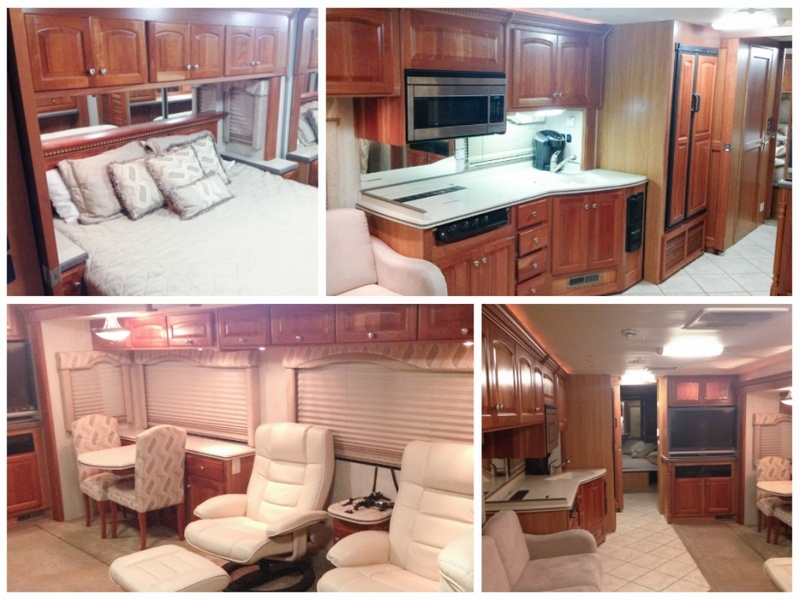 Beautiful RV Makeover - before
