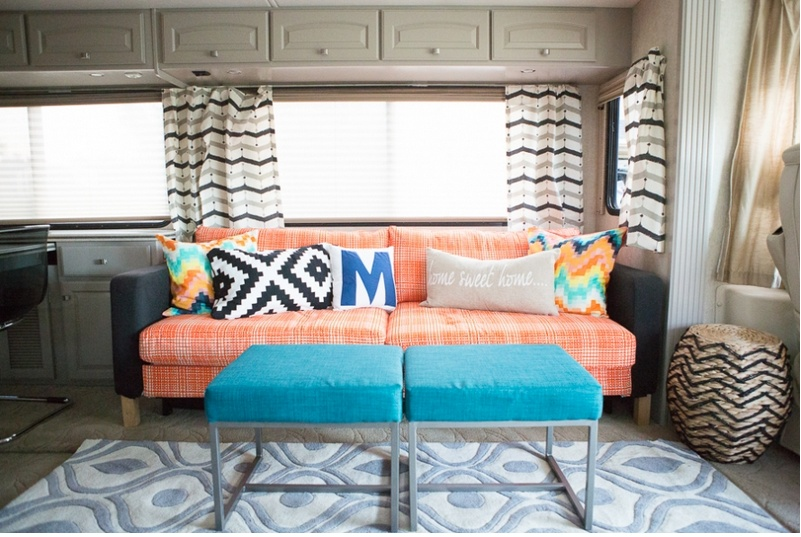 Colorful RV Makeover | Mobile Home Living