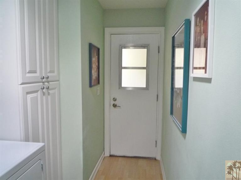 Beautiful double wide decor - back door