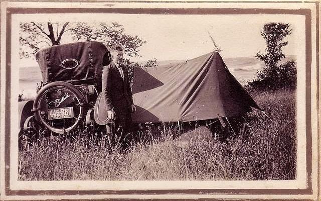 Buick Camper Tent