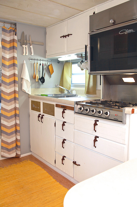 Camper Renovation - After - Kitchen
