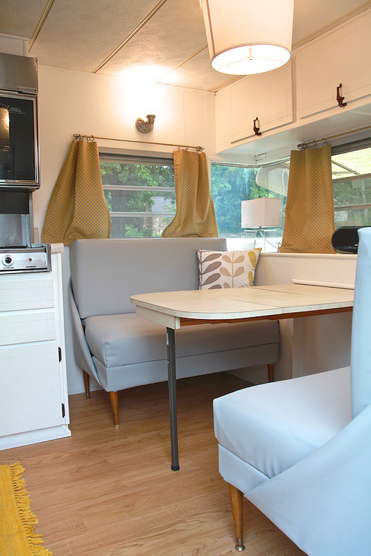 Cozy Vintage Camper Renovation