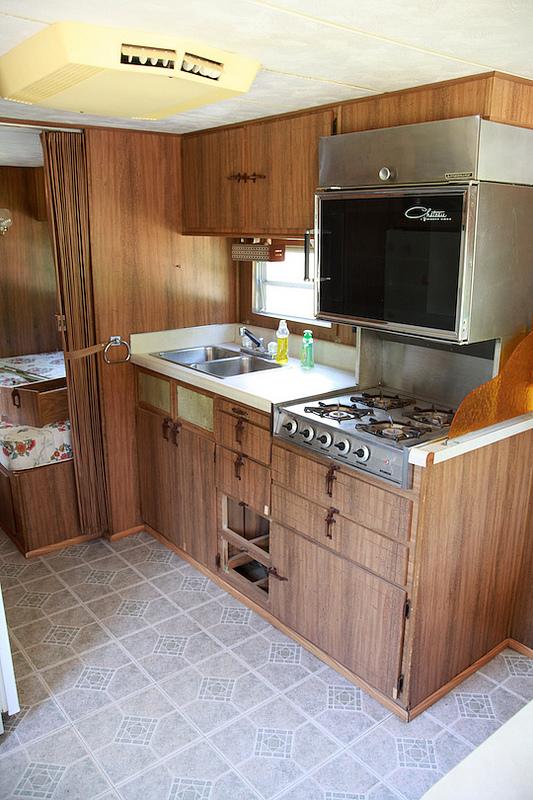 Cozy Vintage Camper Renovation Mobile Home Living