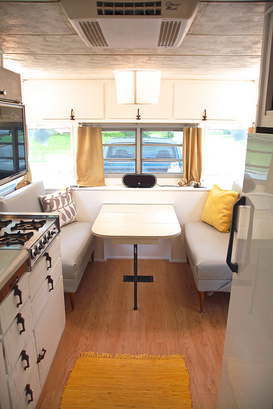 Camper renovation - After - Interior View
