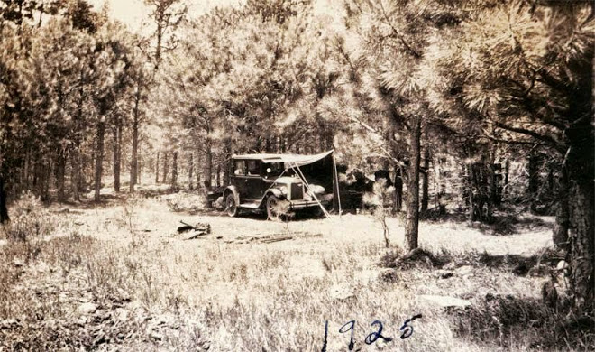 Camping out 1925