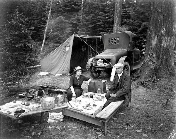 Camping c1920