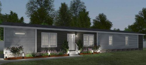 Cavalier Manufactured Home Floor Plan - Exterior Render