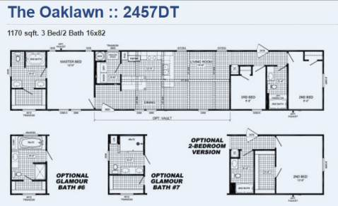 Cavalier Manufactured Home Floor Plan