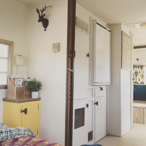 colorful camper makeover-interior after