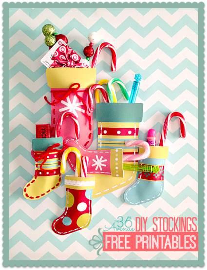 Christmas Decor Ideas - Paper Stocking