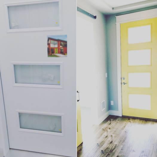 1979 single wide remodel - new doors