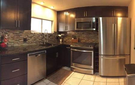 Cool Double Wide Decor In Arizona: You Will Love This Kitchen!