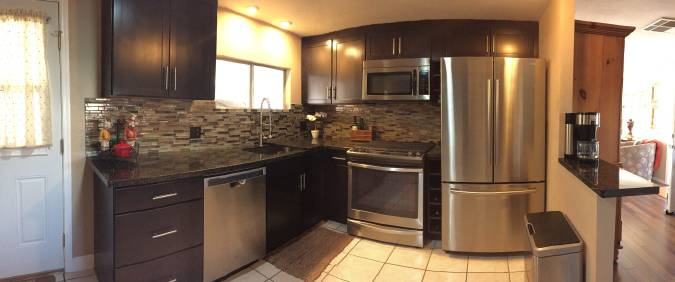 Cool Double Wide Decor in Arizona: You Will Love This Kitchen! 1