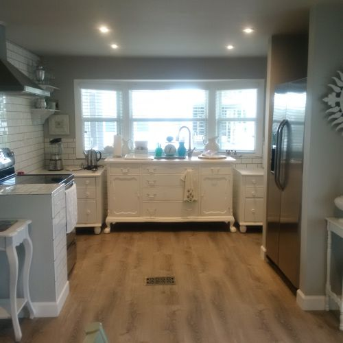 $45,000 manufactured home renovation - 1979 total home remodel