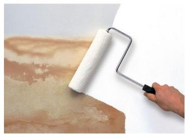 Covering your ceiling stains