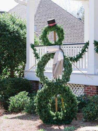 DIY Christmas decor ideas-snowman