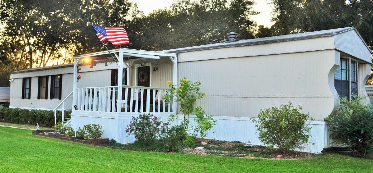 Tx blogger shares great diy manufactured home remodel for Remodeling a modular home