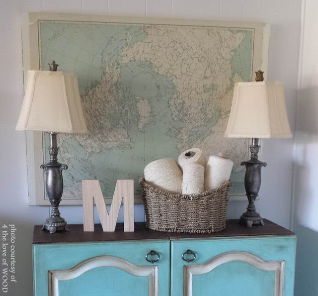 Diy-wall-art-map-project-amazing-mobile-home-decor