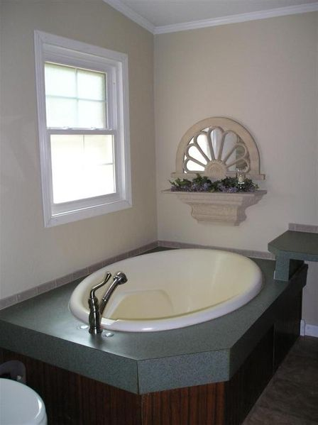 Double wide manufactured home master bathroom after makeover 2 - homesteading_