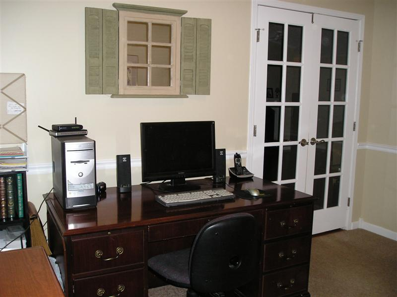 Homesteading with a manufactured home - office