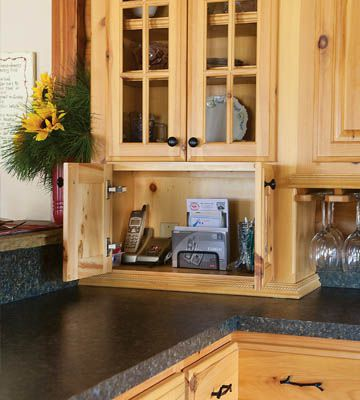 Down-home-on-the-range-cabinet storage in cabin style kitchen makeover_c