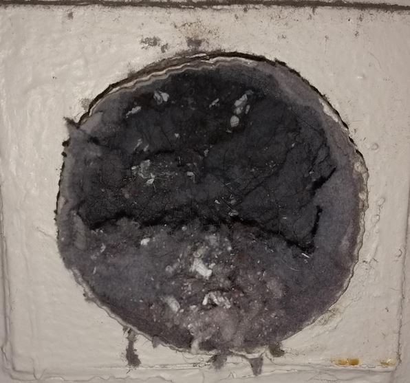 Dryer vent safety for mobile homes