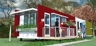Evergreen Eco Homes - exterterior view 3 bedroom