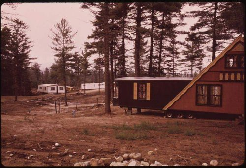 unique mobile home additions - A-frame mobile home