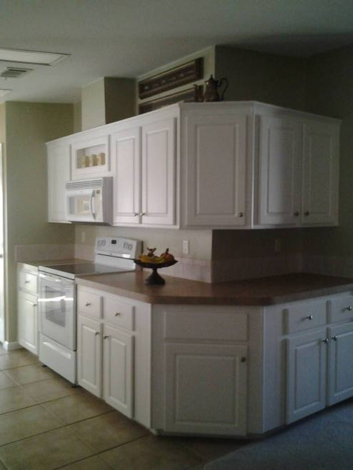 Florida double wide-FL Remodeled Manufactured Home Shines Bright (kitchen)