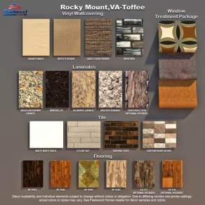 Luxury Fleetwood Homes Manufactured Home Floor Plan Materials and Decor Mood Board